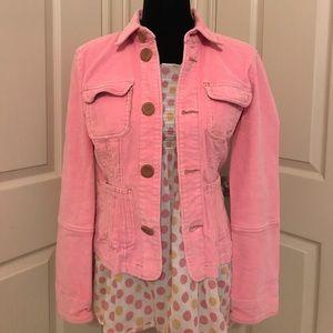 Tulle Pink Corduroy Jacket